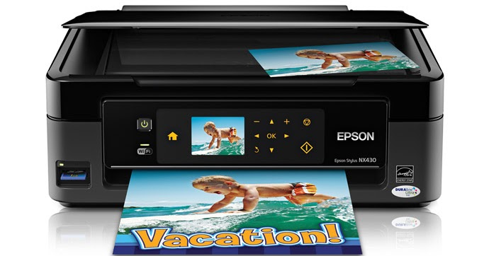 epson stylus nx430 printer manual