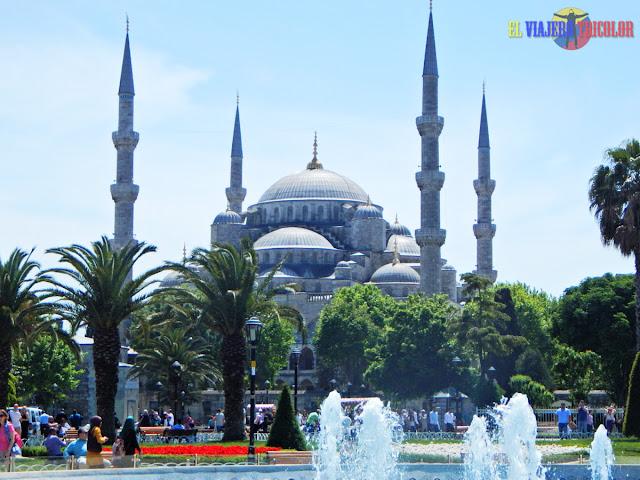 Sultanahmet Mezquita Azul