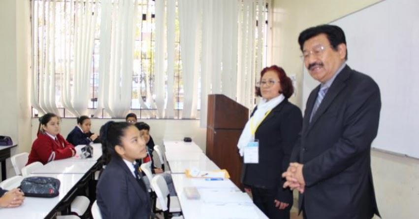 ONEM 2019: Estudiantes del Callao rinden prueba, en el marco de la Olimpiada Nacional Escolar de Matemática - Etapa UGEL - www.drec.gob.pe