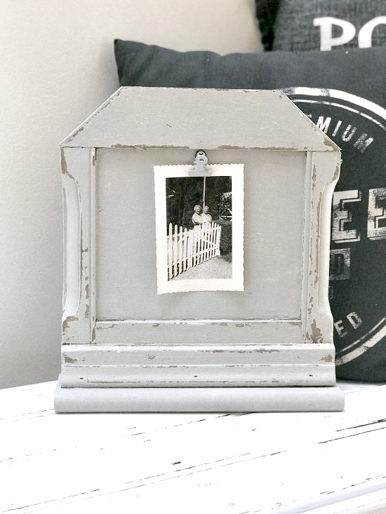 How to Make a Unique Chippy Photo Frame