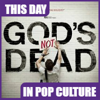 'God's Not Dead' was released on March 21, 2014