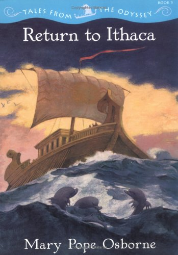 Odisei 5- Kembali ke Ithaca - Mary Pope Osborne