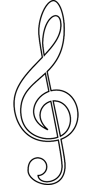 music symbol coloring pages | Music Notes Symbols Coloring Pages – Colorings.net
