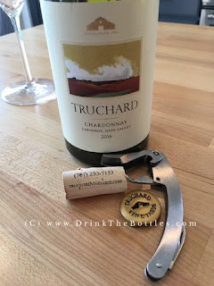 2016 Truchard Vineyards Chardonnay Label