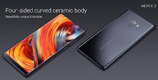 Xiaomi Mi MIX 2 Global Bands 5.99 inch 6GB RAM 128GB ROM Snapdragon 835 Octa core 4G Smartphone - Black(Ceramic)