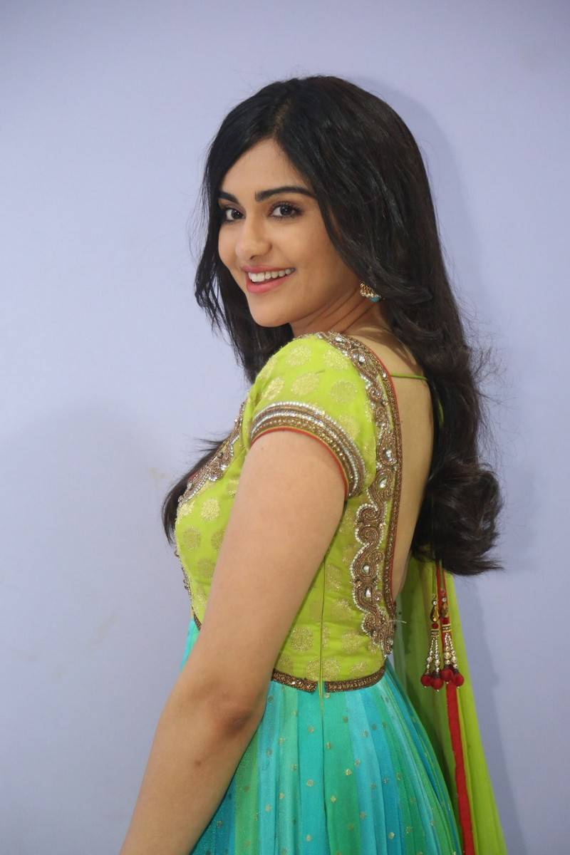 Adah Sharma Stills At Garam Movie In Yellow Dress