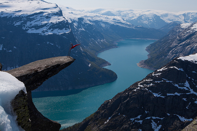 Trolltunga, beautiful places to visit in Norway