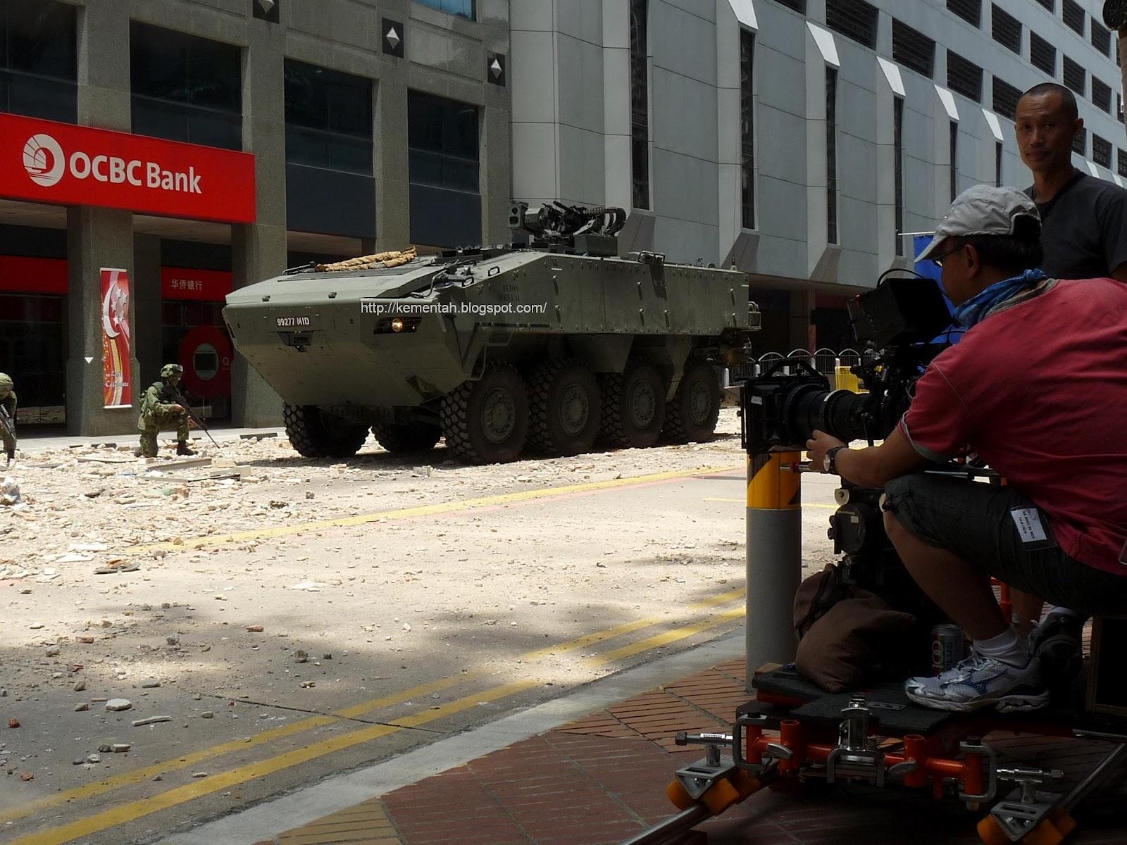 Senang Diri: Making of battle scenes for Jack Neo's upcoming movie