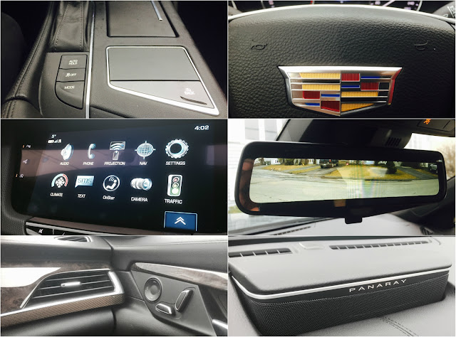 2017 Cadillac CT6 interior detail