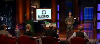 Ruck Pack on Shark Tank Christmas Special