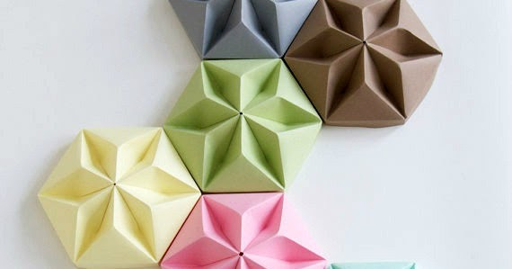 Studio Snowpuppe Lamp : Origami ceiling cups for paper pendant lamps by studio snowpuppe