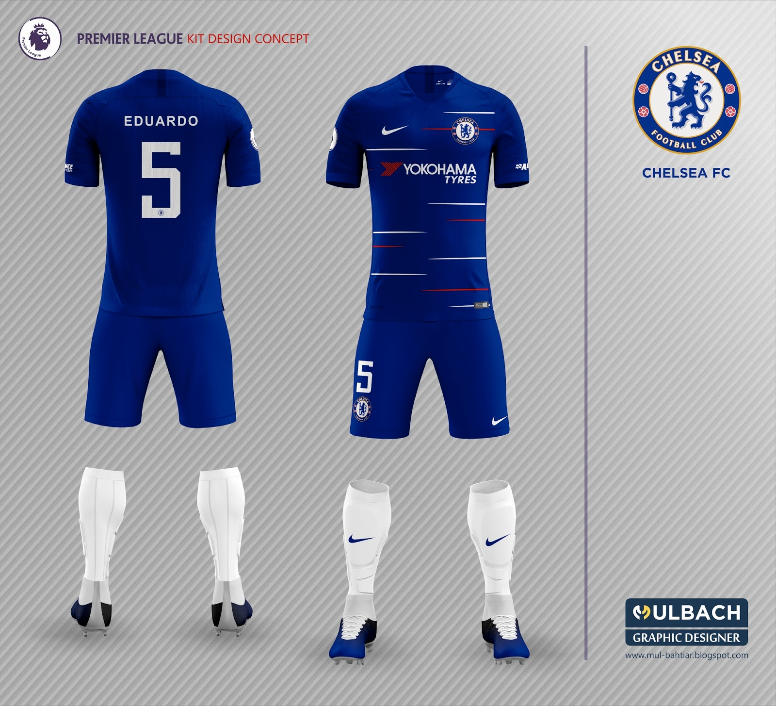 best website f65a2 ced27 chelsea home kit 2018