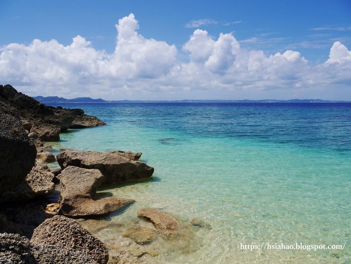 沖繩-景點-離島-外島-久高島-海邊-海水-自由行-旅遊-Okinawa-kudaka-island-sea-ocean-beach