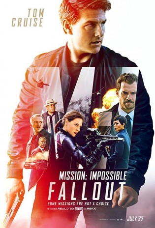 Mission Impossible Fallout 2018 English Movie 480p HDCAM 400MB