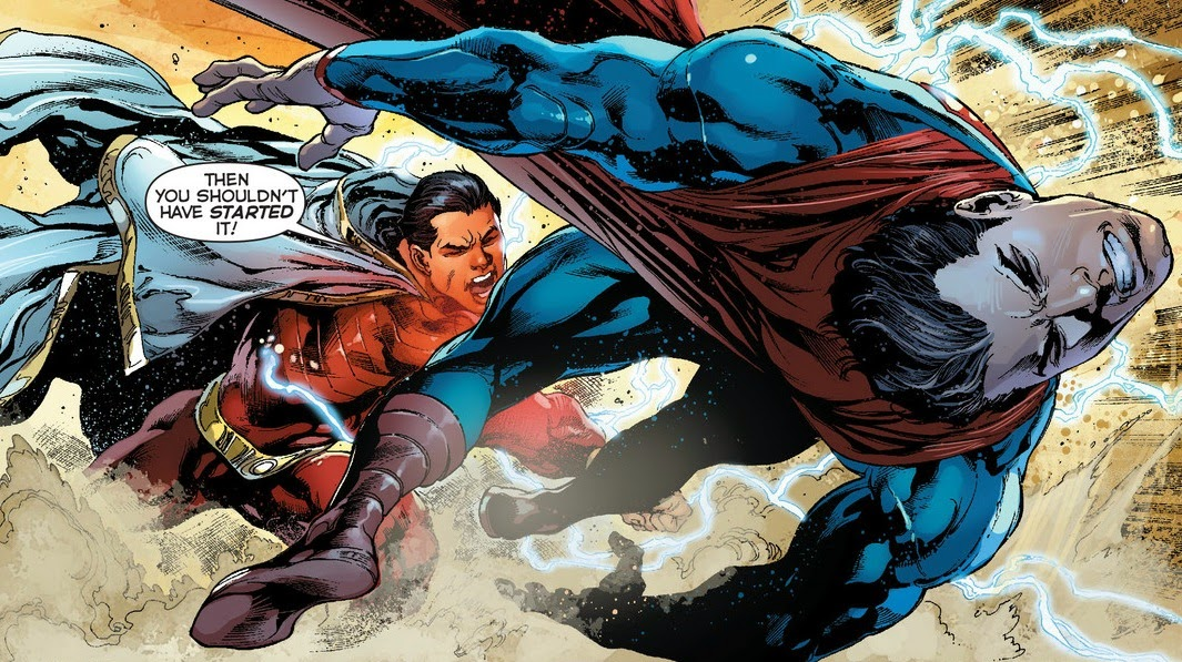 Image result for superman vs captain marvel