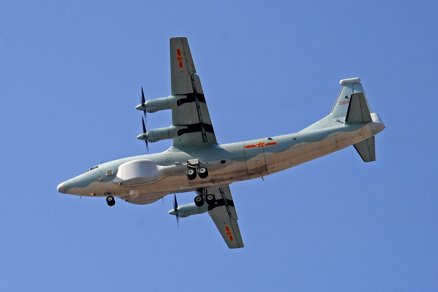 Y-8GX4 Electronic Intelligence (ELINT) Aircraft (High New ...