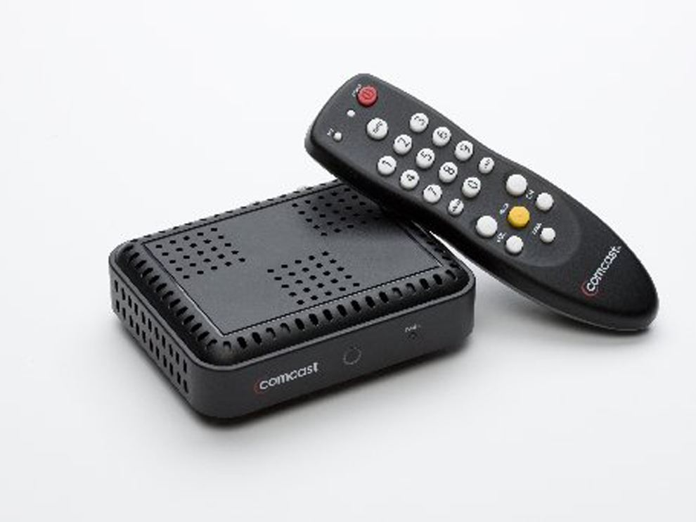 Comcast Cable Box Wiring Schematic Diagram
