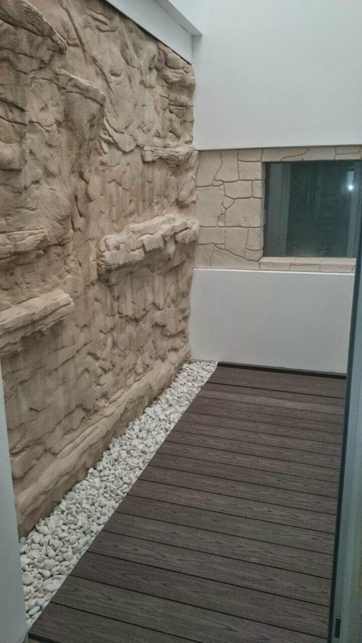 Tarima de exterior sint tica o composite top madera - Suelo composite exterior ...