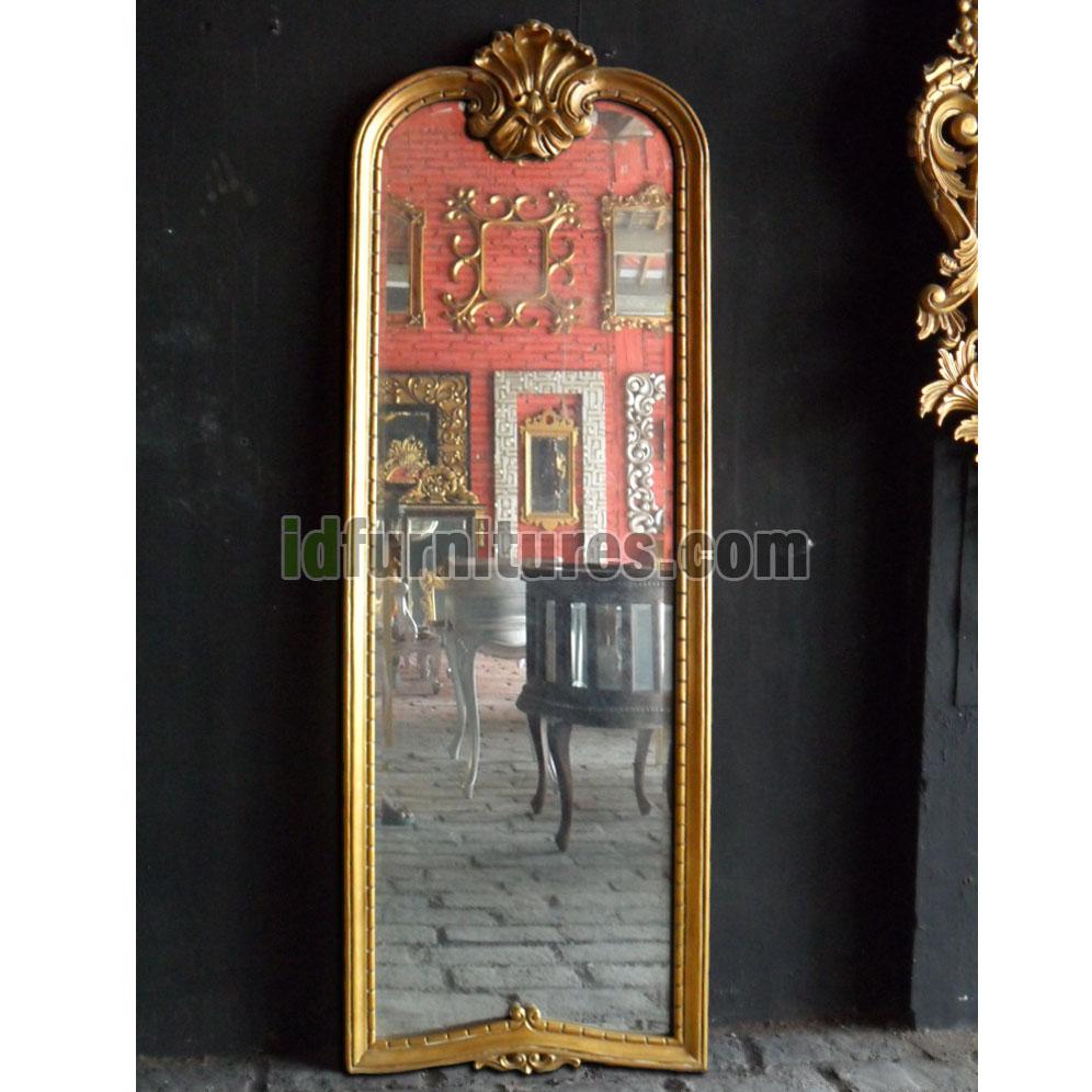Hiasan Dinding Cermin Hias Dowo Gold Leaf | Desain Interior