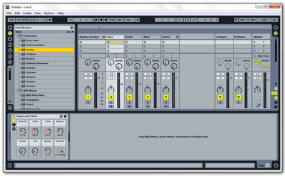 Software Musik Terbaik Untuk Rekaman (Ableton Live)