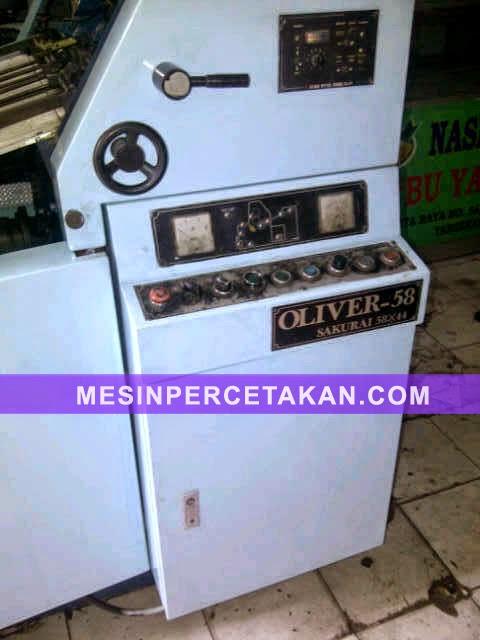 Sakurai Oliver 58 offset machine