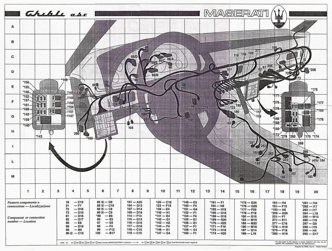Wiring Diagrams and Free Manual Ebooks: Maserati Ghibli II