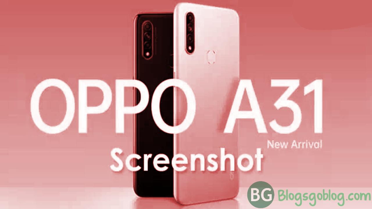 5 Cara Mudah Screenshot HP Oppo A31 (2020) Terbaru