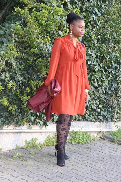 astuce pour porter une robe empire, saint valentin, des conseils pour porter une robe empire, extensions à clips crépus Patty Hair