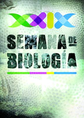 Cartel ganador. Autor: José Antonio Martínez Pastor (XXVII Concurso de Carteles de la XXIX Semana de Biología)