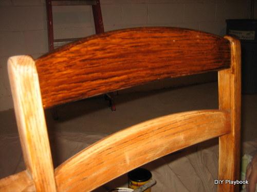 Vintage Desk Stain