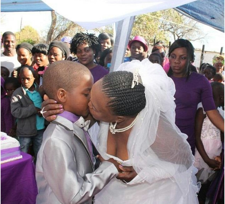 9-year-old Boy Marries 62-year-old Wife For The Second Time, Becomes World's Youngest Groom