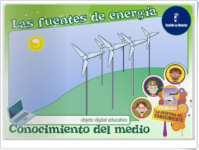 """""""Las fuentes de energía"""" (Ciencias Naturales de Primaria)"""