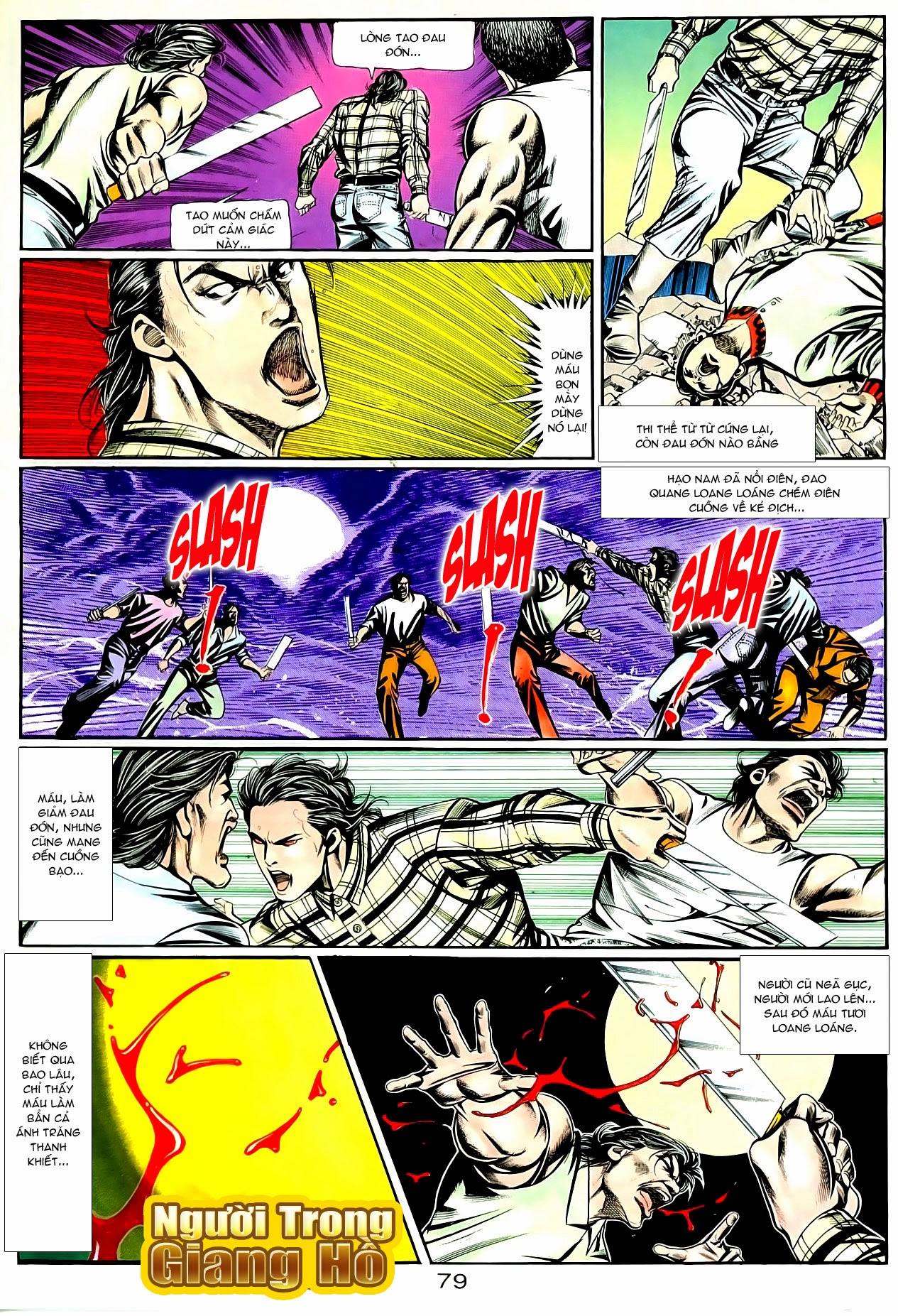 Người Trong Giang Hồ chapter 90: giang hồ hiểm trang 15