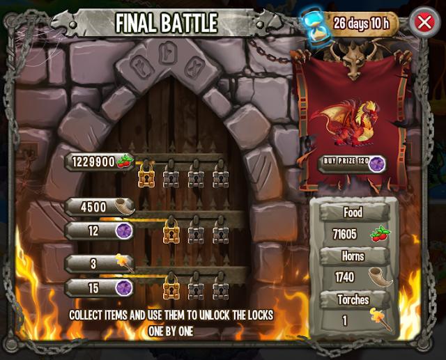 Batalla Final Isla Calabozo Dragon City