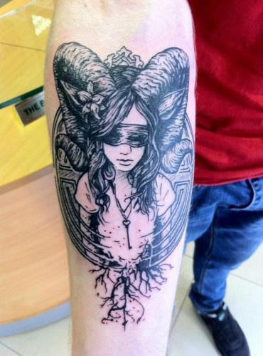 Neo polytheist greco roman pagan tattoos for Neo pagan tattoos