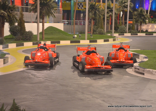 mini Grand Prix at Ferrari World