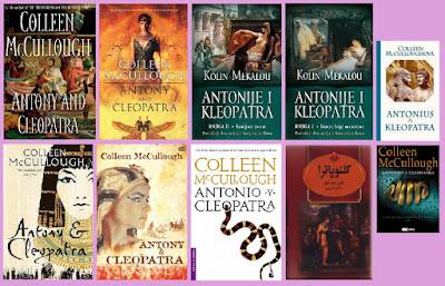 portadas del libro Antonio y Cleopatra