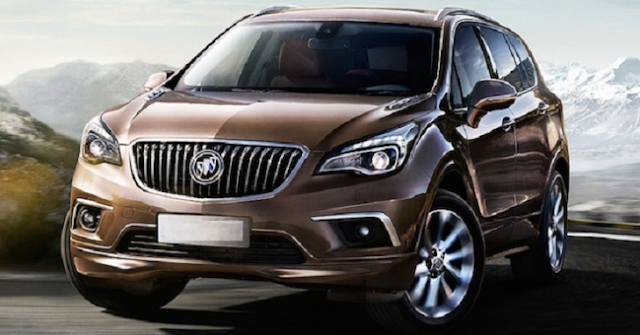 2018 Buick Envision Specs