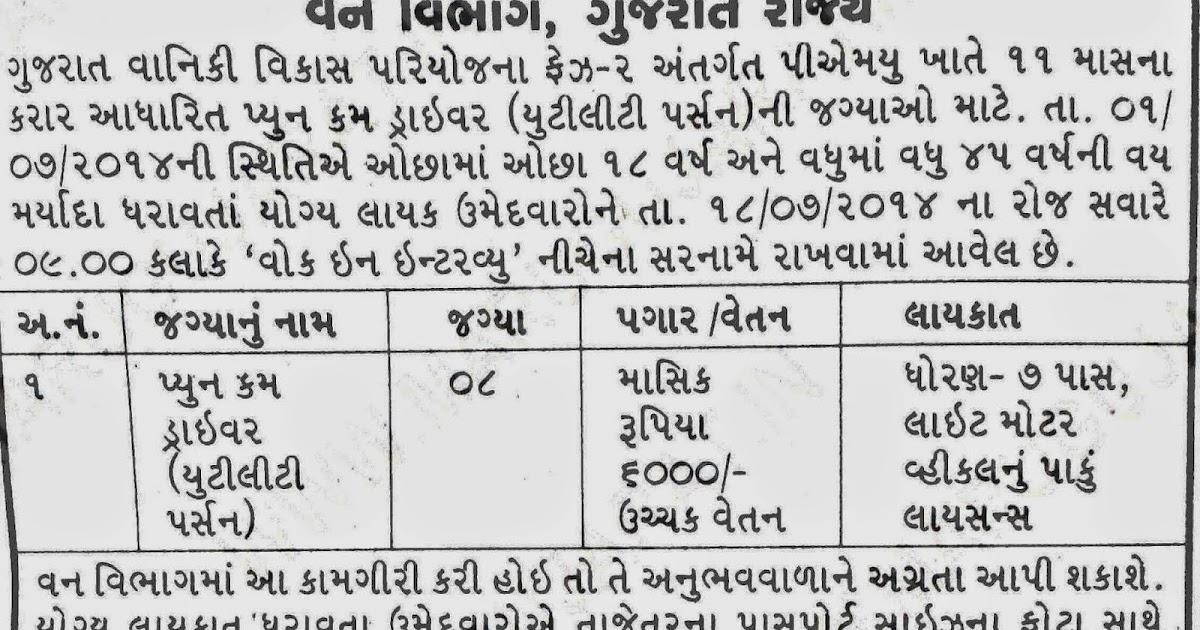 Ojas Guj Nic In Gujarat Govt Online Job Application Ojas
