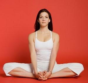 yoga a way to health baddha konasanabound angle pose or