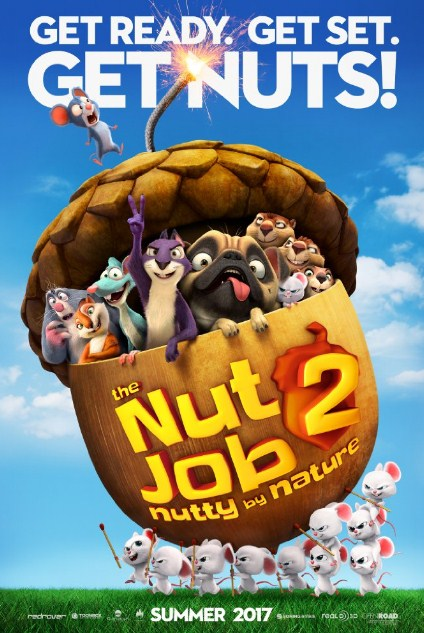 Sinopsis / Alur Cerita Film The Nut Job 2: Nutty by Nature (2017)