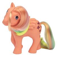 My Little Pony Classic Series Retro Flutterbye Year 3 Rainbow Pony