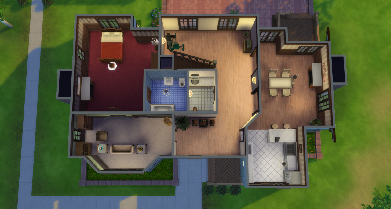 My sims 4 blog the pleasant family and house broke for My family house plans