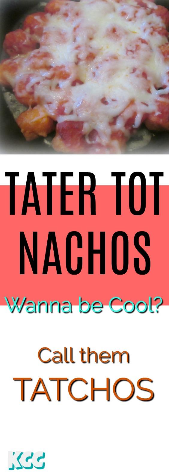 Parmesan Tatchos Recipe = Tater Tot Nachos