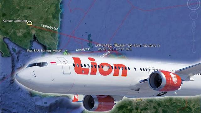 Fakta-fakta Terbaru Jatuhnya Lion Air PK-LQP