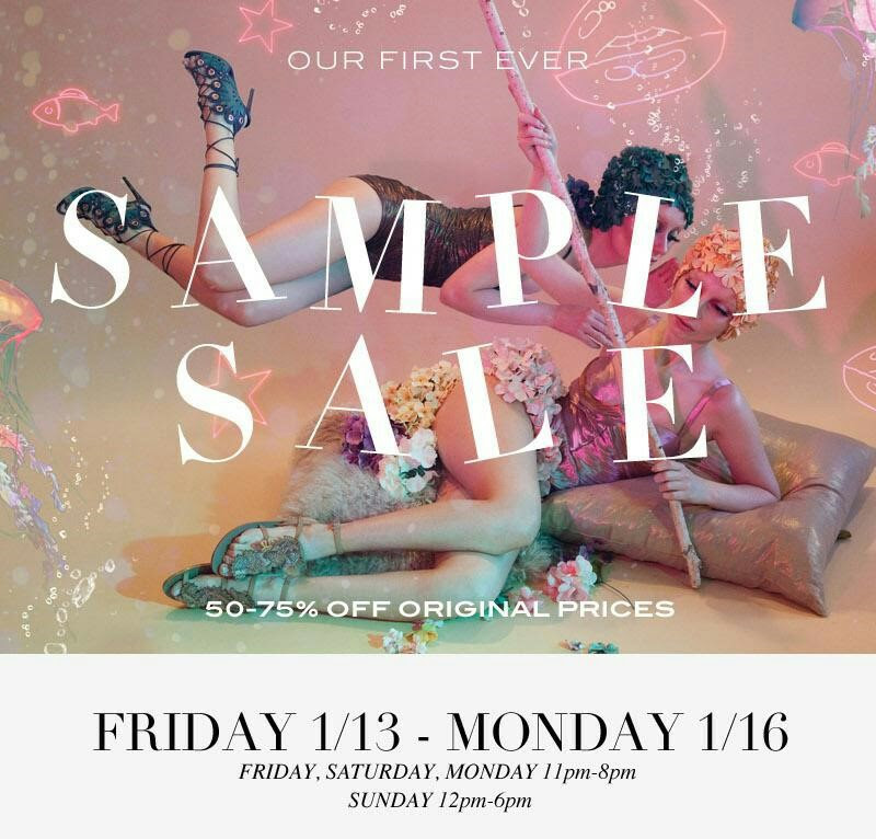 Shoe Sample Sale Burnaby