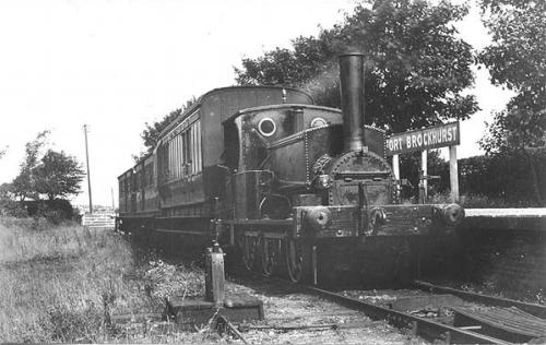 Lee train at Brockhurst