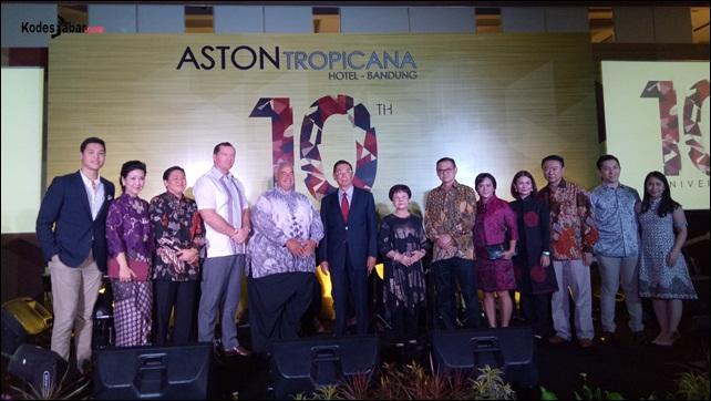 Happy Anniversary 10 Tahun Aston Tropicana Hotel Bandung