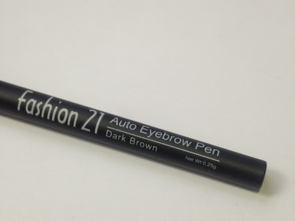 SULIT PRODUCT | Fashion 21 Auto Eyebrow Pen