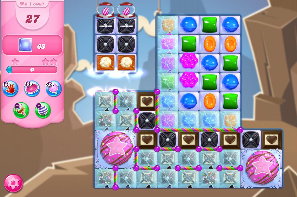 Candy Crush Saga level 6031